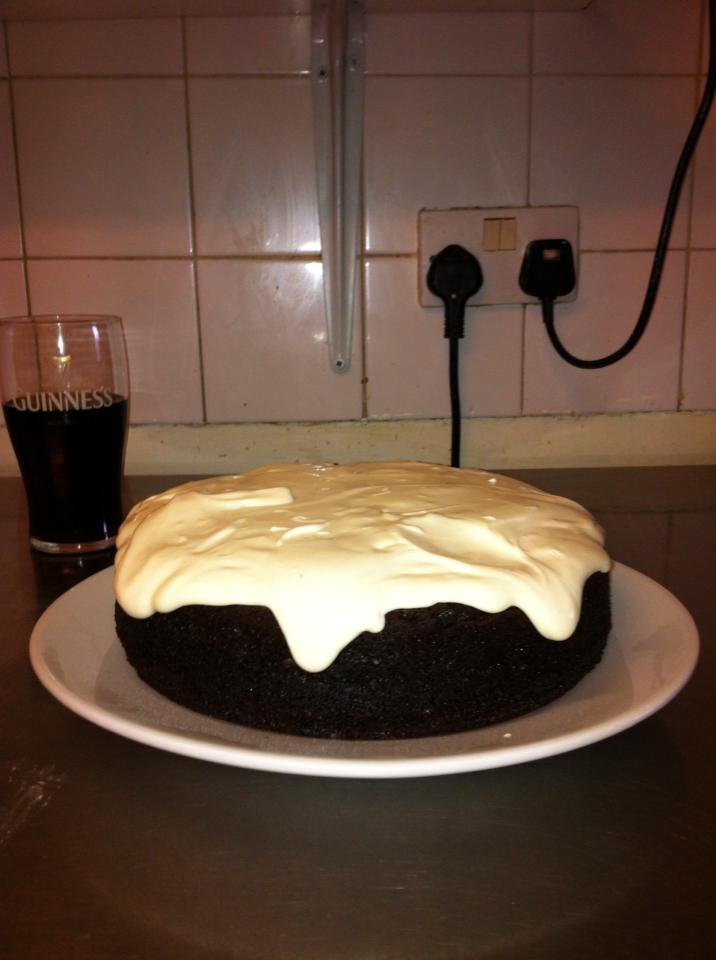 Chocolate Guinness Cake; if you ever only bake one chocolate cake from ...